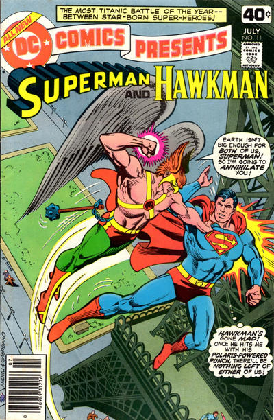 Cover for DC Comics Presents (DC, 1978 series) #11