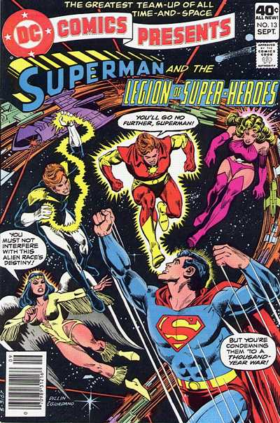 Cover for DC Comics Presents (DC, 1978 series) #13