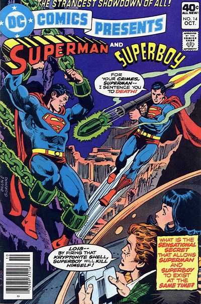 Cover for DC Comics Presents (DC, 1978 series) #14 [Whitman Variant]