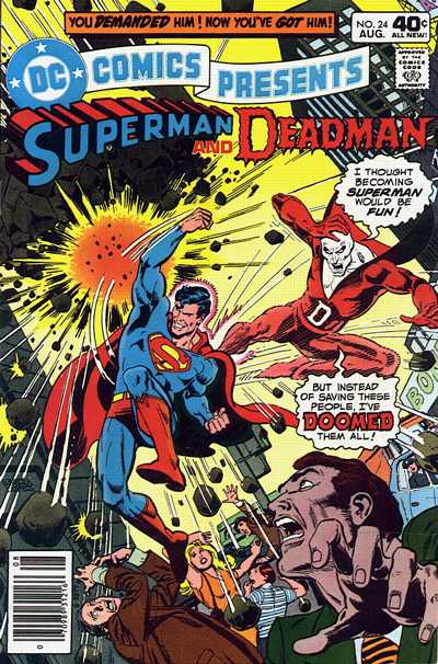 Cover for DC Comics Presents (DC, 1978 series) #24
