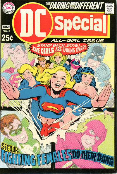Cover for DC Special (DC, 1968 series) #3
