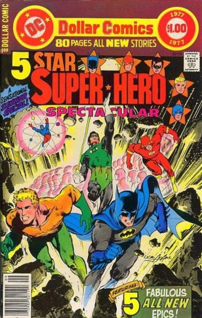 Cover for DC Special Series (DC, 1977 series) #1 - 5 Star Super*Hero Spectacular