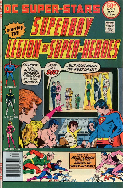 Cover for DC Super Stars (1976 series) #3