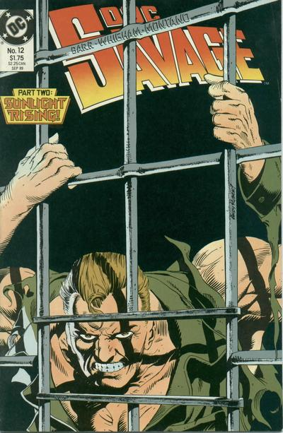 Cover for Doc Savage (DC, 1988 series) #12