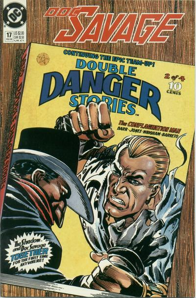 Cover for Doc Savage (DC, 1988 series) #17