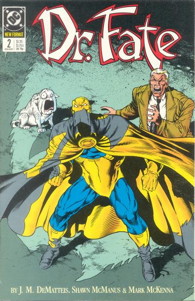 Cover for Doctor Fate (DC, 1988 series) #2
