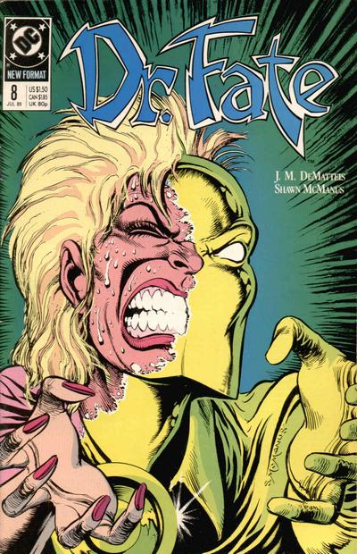 Cover for Doctor Fate (1988 series) #8