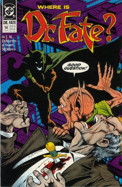 Cover for Doctor Fate (DC, 1988 series) #14