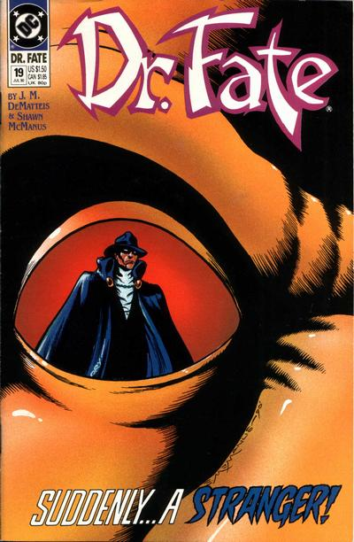 Cover for Doctor Fate (DC, 1988 series) #19