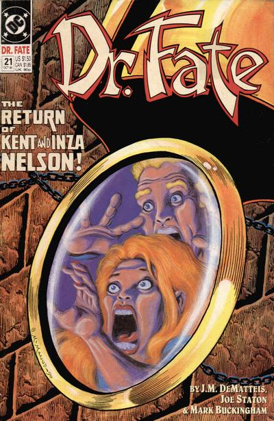 Cover for Doctor Fate (DC, 1988 series) #21
