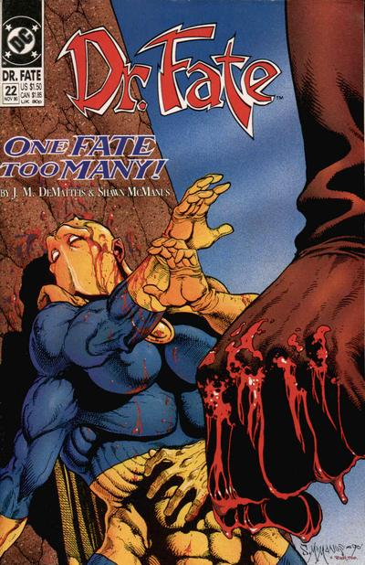 Cover for Doctor Fate (1988 series) #22