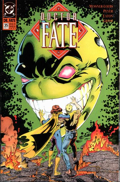 Cover for Doctor Fate (DC, 1988 series) #35