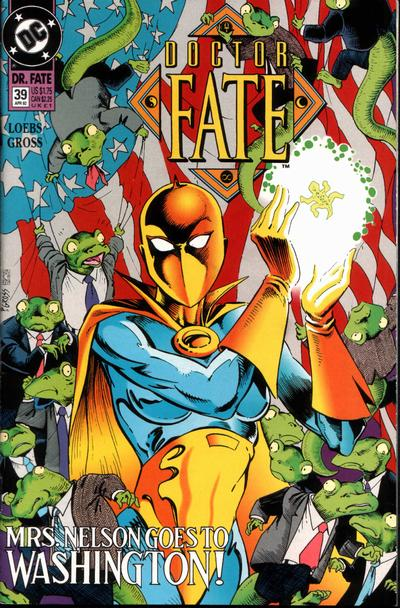 Cover for Doctor Fate (1988 series) #39