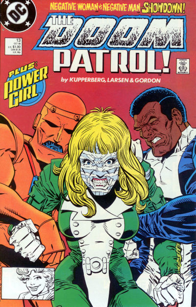 Cover for Doom Patrol (DC, 1987 series) #13 [Direct Edition]