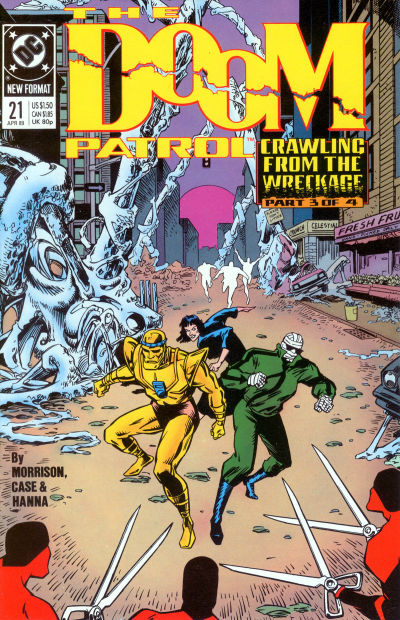 Cover for Doom Patrol (DC, 1987 series) #21