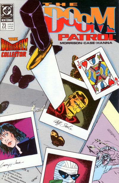 Cover for Doom Patrol (DC, 1987 series) #23