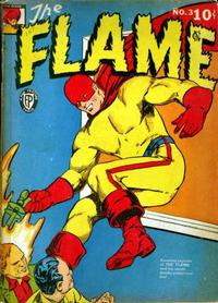 Cover Thumbnail for The Flame (Fox, 1940 series) #3