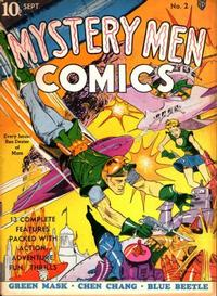 Cover Thumbnail for Mystery Men Comics (Fox, 1939 series) #2