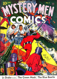 Cover Thumbnail for Mystery Men Comics (Fox, 1939 series) #6