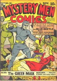 Cover Thumbnail for Mystery Men Comics (Fox, 1939 series) #28