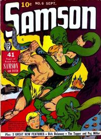 Cover Thumbnail for Samson (Fox, 1940 series) #6