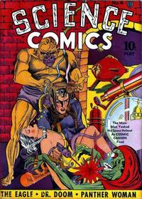 Cover Thumbnail for Science Comics (Fox, 1940 series) #4