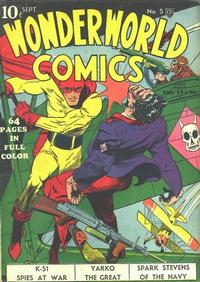 Cover Thumbnail for Wonderworld Comics (Fox, 1939 series) #5