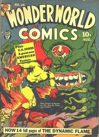Cover Thumbnail for Wonderworld Comics (Fox, 1939 series) #28