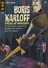 Cover Thumbnail for Boris Karloff Tales of Mystery (Western, 1963 series) #9
