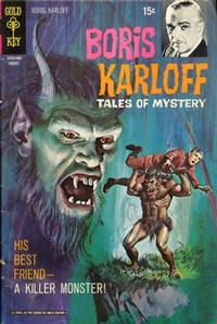 Cover Thumbnail for Boris Karloff Tales of Mystery (Western, 1963 series) #31