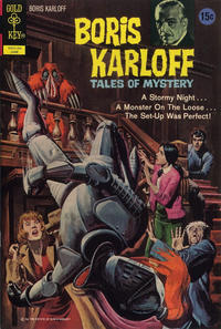 Cover Thumbnail for Boris Karloff Tales of Mystery (Western, 1963 series) #41