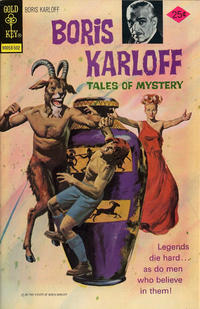Cover Thumbnail for Boris Karloff Tales of Mystery (Western, 1963 series) #59 [Gold Key Variant]