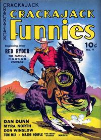 Cover Thumbnail for Crackajack Funnies (Western, 1938 series) #9