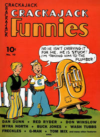 Cover for Crackajack Funnies (1938 series) #10
