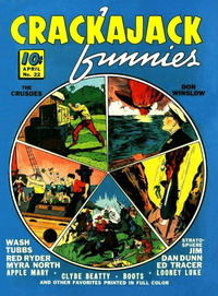Cover Thumbnail for Crackajack Funnies (Western, 1938 series) #22