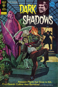 Cover Thumbnail for Dark Shadows (Western, 1969 series) #22 [Gold Key]