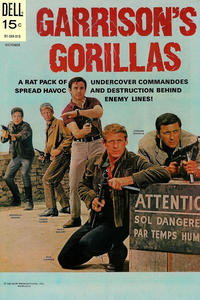 Cover Thumbnail for Garrison's Gorillas (Dell, 1968 series) #5