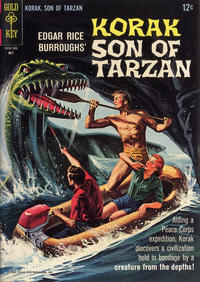 Cover Thumbnail for Edgar Rice Burroughs Korak, Son of Tarzan (Western, 1964 series) #8