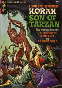 Cover Thumbnail for Edgar Rice Burroughs Korak, Son of Tarzan (Western, 1964 series) #13
