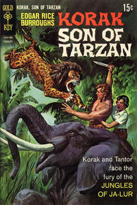 Cover Thumbnail for Edgar Rice Burroughs Korak, Son of Tarzan (Western, 1964 series) #27