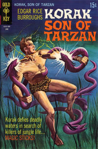 Cover Thumbnail for Edgar Rice Burroughs Korak, Son of Tarzan (Western, 1964 series) #29