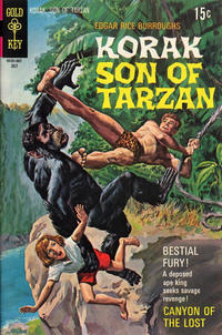 Cover Thumbnail for Edgar Rice Burroughs Korak, Son of Tarzan (Western, 1964 series) #36
