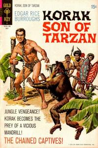 Cover Thumbnail for Edgar Rice Burroughs Korak, Son of Tarzan (Western, 1964 series) #41