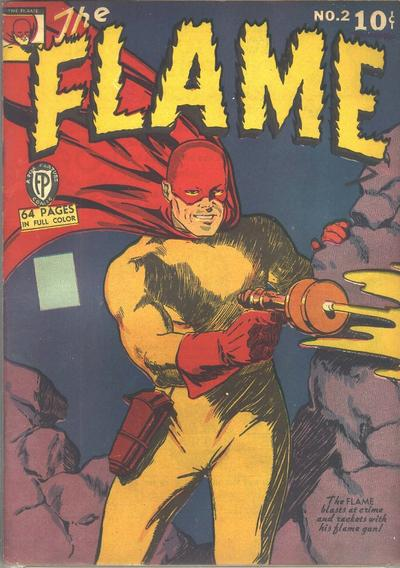 Cover for The Flame (Fox, 1940 series) #2