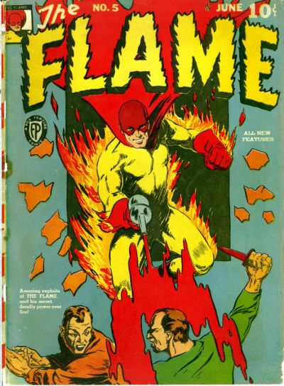 Cover for The Flame (Fox, 1940 series) #5