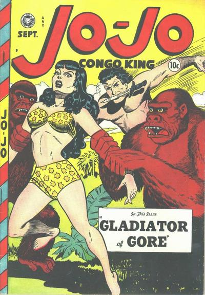 Cover for Jo-Jo Comics (1946 series) #19