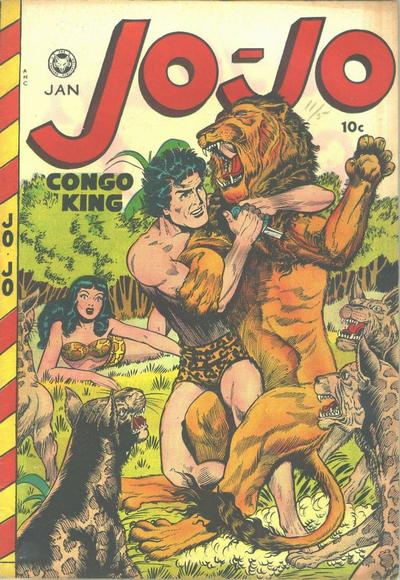 Cover for Jo-Jo Comics (Fox, 1946 series) #23
