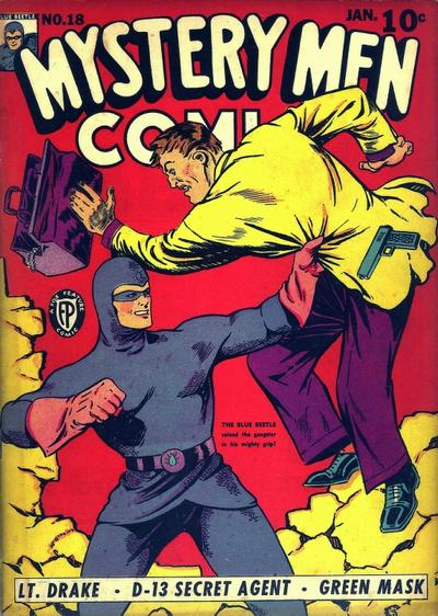 Cover for Mystery Men Comics (1939 series) #18