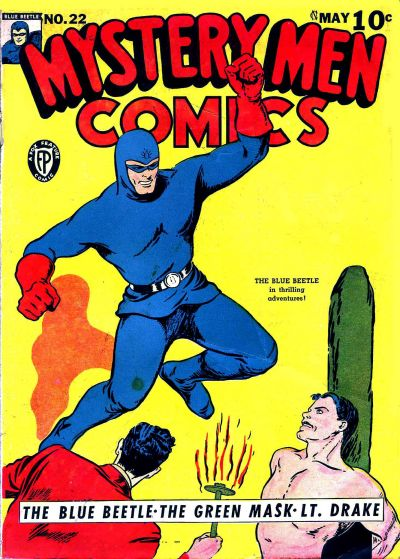 Cover for Mystery Men Comics (Fox, 1939 series) #22