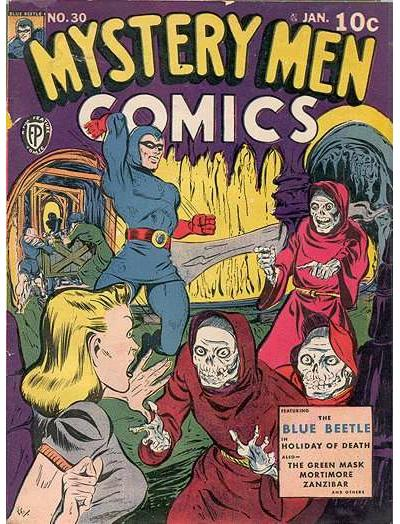 Cover for Mystery Men Comics (Fox, 1939 series) #30
